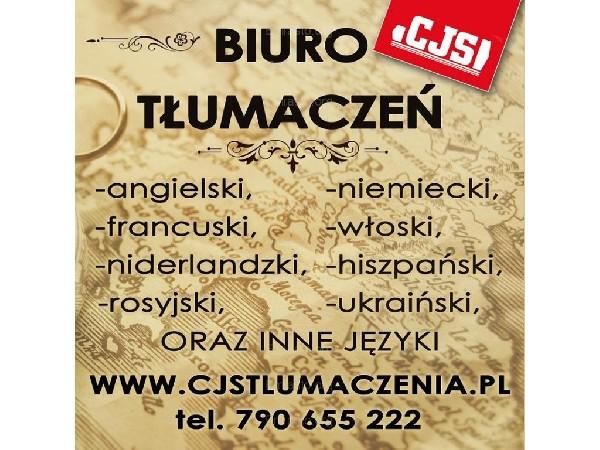 Tłumacz Przysięgły Myślibórz - Angielski, Niemiecki, Francuski, Włoski, Rosyjski, Hiszpański I Inne
